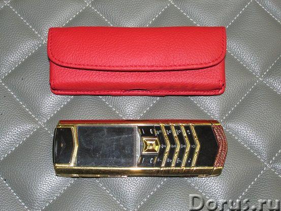 Кожаные чехлы для Vertu - Телефоны - Чехлы на ремень из натуральной кожи для Vertu. Изготовление на..., фото 2