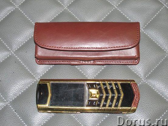 Кожаные чехлы для Vertu - Телефоны - Чехлы на ремень из натуральной кожи для Vertu. Изготовление на..., фото 3