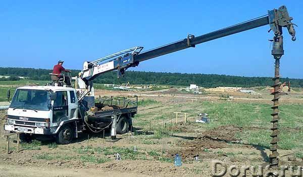 Услуги ямобура ГАЗ 66, Isuzu Forward - Строительные услуги - Услуги по бурению отверстий в грунтах и..., фото 1