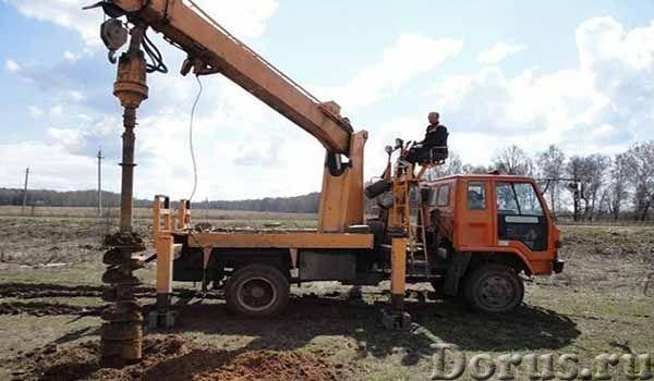 Услуги ямобура ГАЗ 66, Isuzu Forward - Строительные услуги - Услуги по бурению отверстий в грунтах и..., фото 3