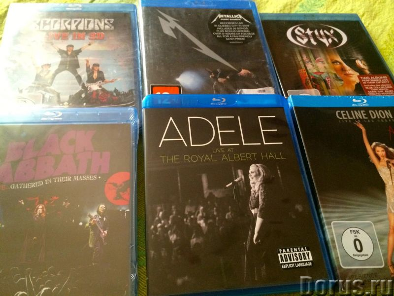 CD, SACD,Vinyl, BLU-Ray,mini LP JAPAN, USA, Europe! New - Диски, кассеты - Более 9000 релизов из Япо..., фото 3