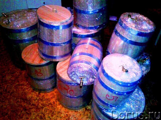 Дубовые бочки купить - Тара и упаковка - БОЧКИ ИЗ КОЛОТОГО ДУБА Изготовленные методом раскалывания д..., фото 1