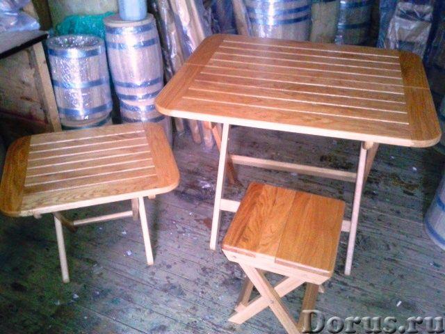 Мебель из дуба - Мебель для дома - Столы ,табуретки и шезлонги от производителя из российского дуба..., фото 2