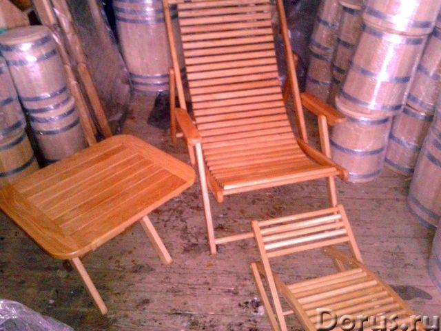 Мебель из дуба - Мебель для дома - Столы ,табуретки и шезлонги от производителя из российского дуба..., фото 4