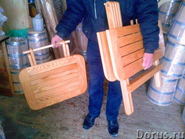 Мебель из дуба - Мебель для дома - Столы ,табуретки и шезлонги от производителя из российского дуба..., фото 5