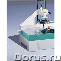 Шпоно-пазовый фрезерный станок (вертикальное фрезерование) MU-2 HOFFMANN (Германия) - Промышленное о..., фото 2