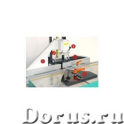 Шпоно-пазовый фрезерный станок (вертикальное фрезерование) MU-2 HOFFMANN (Германия) - Промышленное о..., фото 3