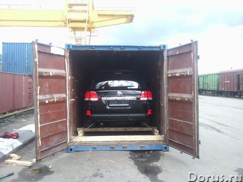Перевозки автомобилей в ж/д контейнерах - Перевозки - Дамы и господа! Рады предложить Вам контейнерн..., фото 1