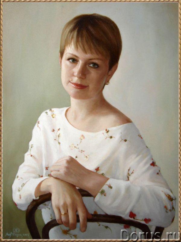 Портрет на заказ - Искусство и коллекционирование - На официальном сайте московского портретиста Дед..., фото 1