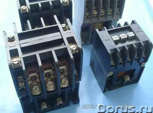 Электродвигатели перемещения, запчасти, тали серии Т10 - Промышленное оборудование - Пускатели : К6Е..., фото 1