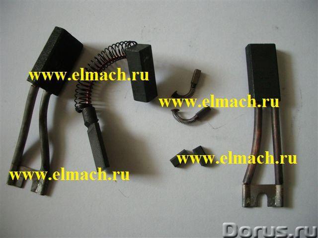 Щетки графитовые для электродвигателей пр-ва Болгарии - Промышленное оборудование - Щетки - 4х5х10..., фото 1