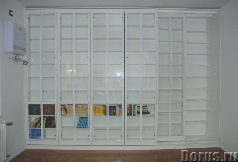 Библиотека раздвижная новая - Мебель для дома - Размеры: В 280 см x Ш 390 см х Г 64 см. Всего 8 двиг..., фото 3