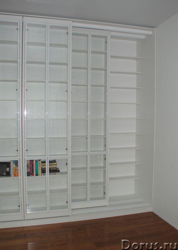 Библиотека раздвижная новая - Мебель для дома - Размеры: В 280 см x Ш 390 см х Г 64 см. Всего 8 двиг..., фото 6