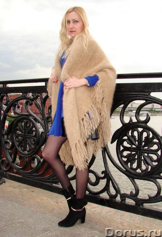 Шаль пуховая женская «Светлые Грезы» из собачьей Шерсти - Одежда и обувь - Представляем Вам ШАЛЬ пух..., фото 4