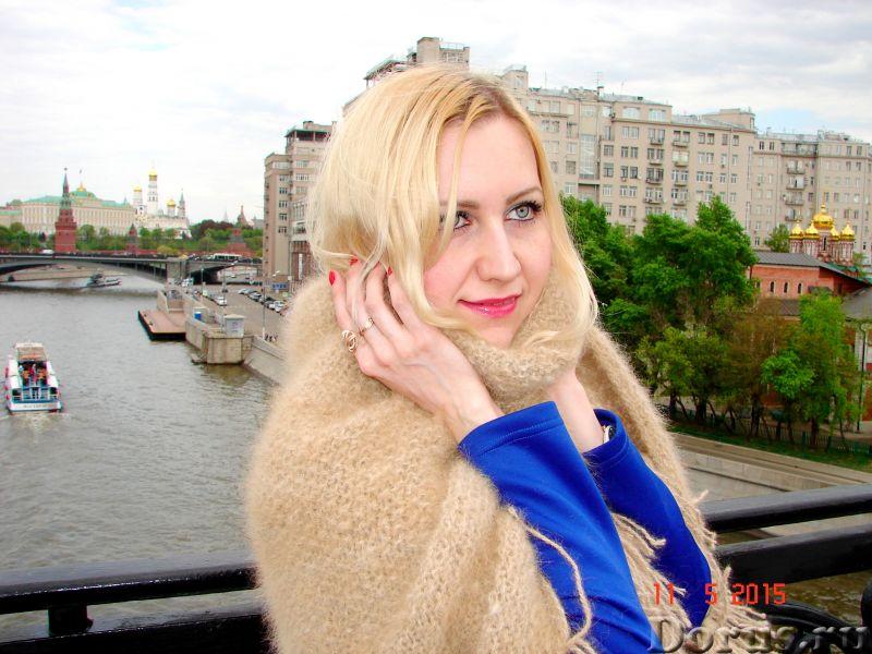 Шаль пуховая женская «Светлые Грезы» из собачьей Шерсти - Одежда и обувь - Представляем Вам ШАЛЬ пух..., фото 6