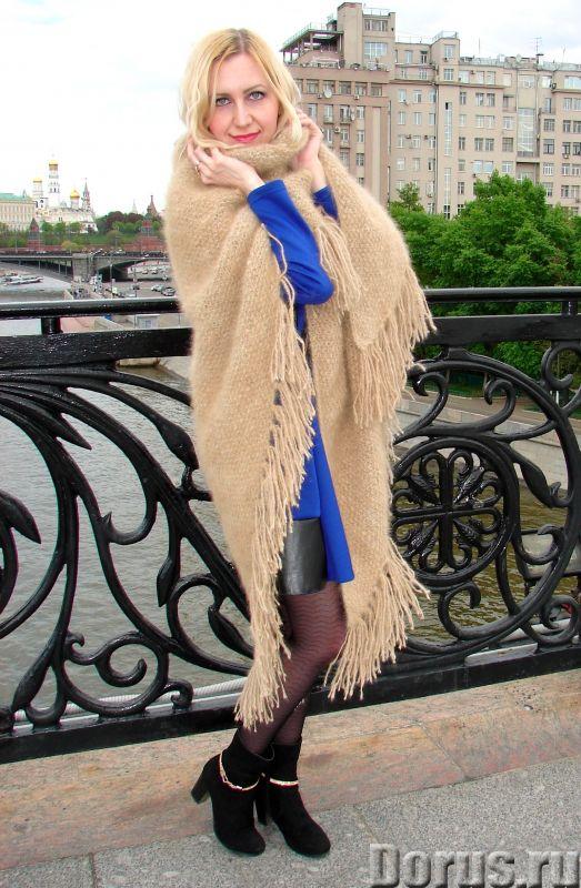 Шаль пуховая женская «Светлые Грезы» из собачьей Шерсти - Одежда и обувь - Представляем Вам ШАЛЬ пух..., фото 7