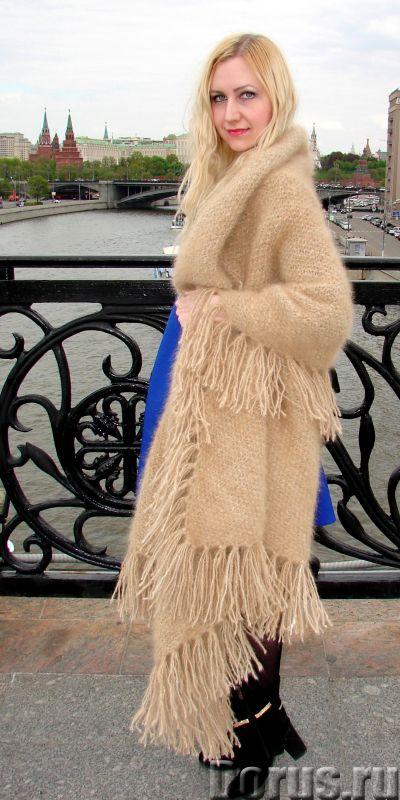 Шаль пуховая женская «Светлые Грезы» из собачьей Шерсти - Одежда и обувь - Представляем Вам ШАЛЬ пух..., фото 8