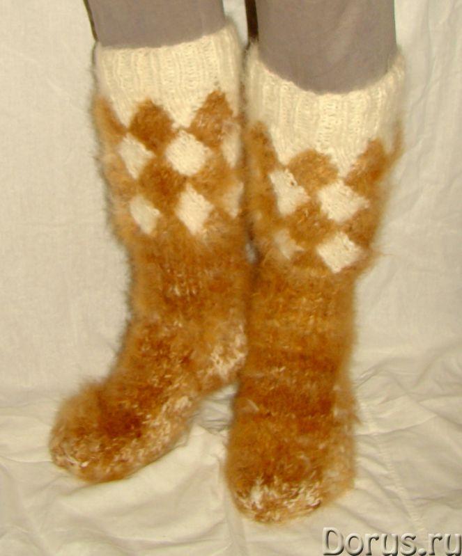Носки «ТАЙГА» мужские из собачьей шерсти - Одежда и обувь - Носки «ТАЙГА» мужские из собачьей шерсти..., фото 2