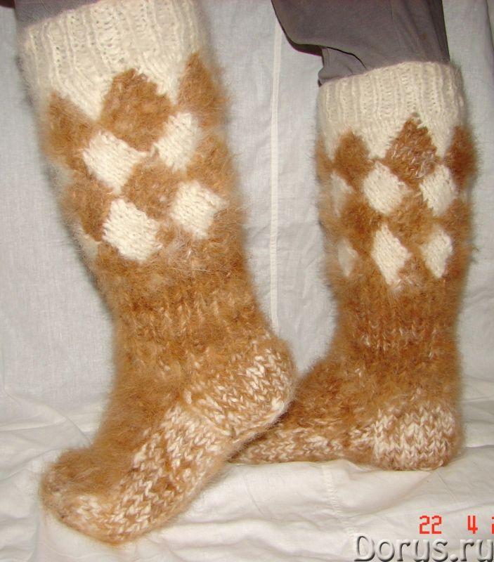 Носки «ТАЙГА» мужские из собачьей шерсти - Одежда и обувь - Носки «ТАЙГА» мужские из собачьей шерсти..., фото 6