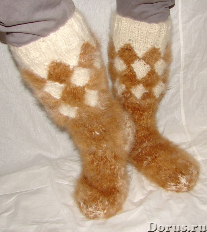 Носки «ТАЙГА» мужские из собачьей шерсти - Одежда и обувь - Носки «ТАЙГА» мужские из собачьей шерсти..., фото 7