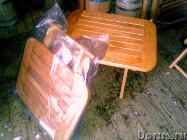 Шезлонги из дуба - Мебель для дома - Столы ,табуретки и шезлонги от производителя из российского дуб..., фото 3
