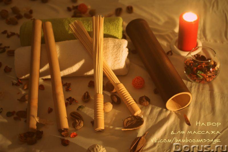 Палочки для массажа - Коррекция фигуры и веса - Бамбуковые палочки для массажа по доступной цене с д..., фото 1