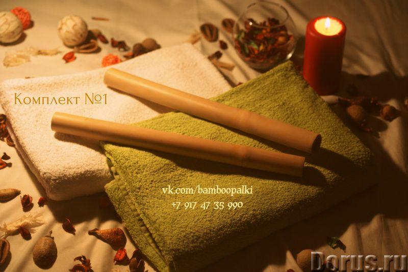 Палочки для массажа - Коррекция фигуры и веса - Бамбуковые палочки для массажа по доступной цене с д..., фото 2