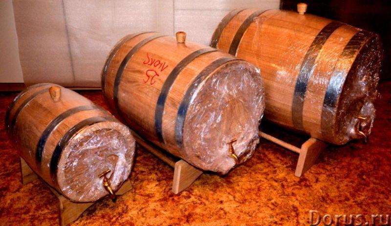 Дубовые бочки и кадки - Тара и упаковка - Дубовые бочки и кадки Дубовые бочки, изготовленные методом..., фото 1