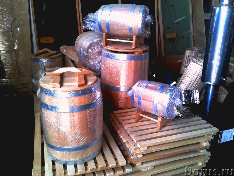 Дубовые бочки и кадки - Тара и упаковка - Дубовые бочки и кадки Дубовые бочки, изготовленные методом..., фото 3