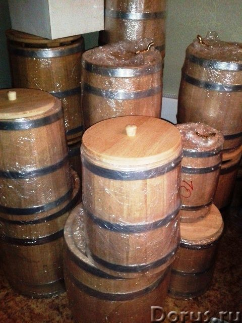 Дубовые бочки и кадки - Тара и упаковка - Дубовые бочки и кадки Дубовые бочки, изготовленные методом..., фото 4