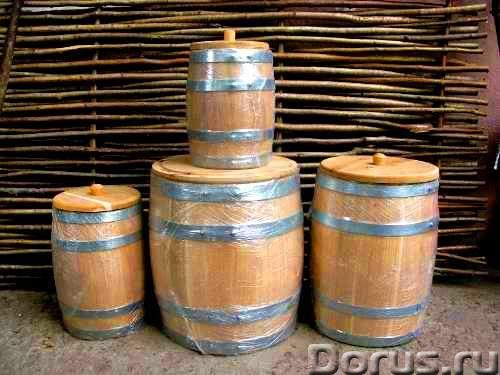 Дубовые бочки и кадки - Тара и упаковка - Дубовые бочки и кадки Дубовые бочки, изготовленные методом..., фото 6
