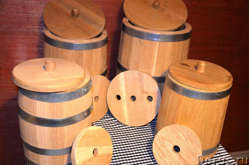 Дубовые бочки и кадки - Тара и упаковка - Дубовые бочки и кадки Дубовые бочки, изготовленные методом..., фото 7