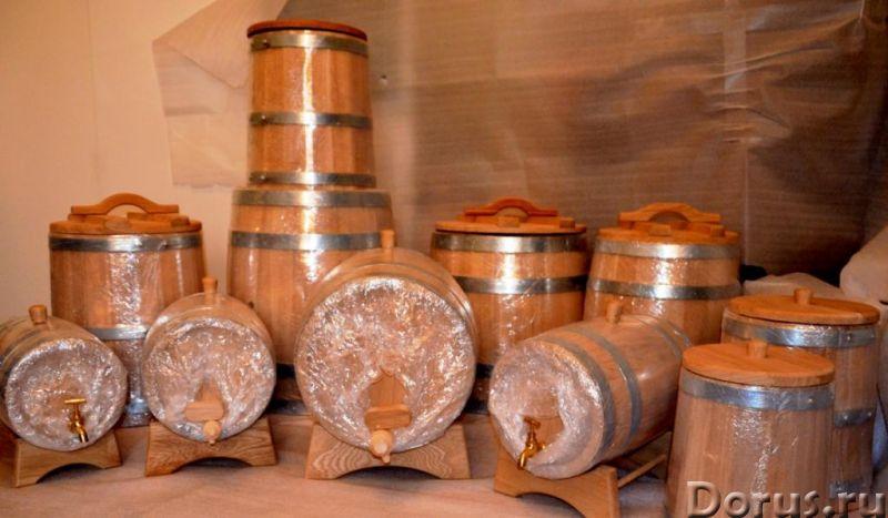 Дубовые бочки для алкоголя и засолки - Товары для дома - Дубовые бочки и кадки Дубовые бочки, изгото..., фото 1
