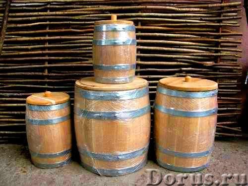 Дубовые бочки для алкоголя и засолки - Товары для дома - Дубовые бочки и кадки Дубовые бочки, изгото..., фото 4