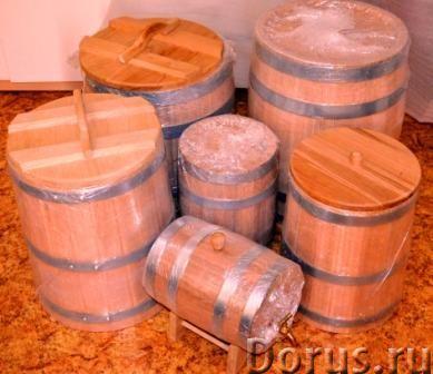 Дубовые бочки для алкоголя и засолки - Товары для дома - Дубовые бочки и кадки Дубовые бочки, изгото..., фото 6