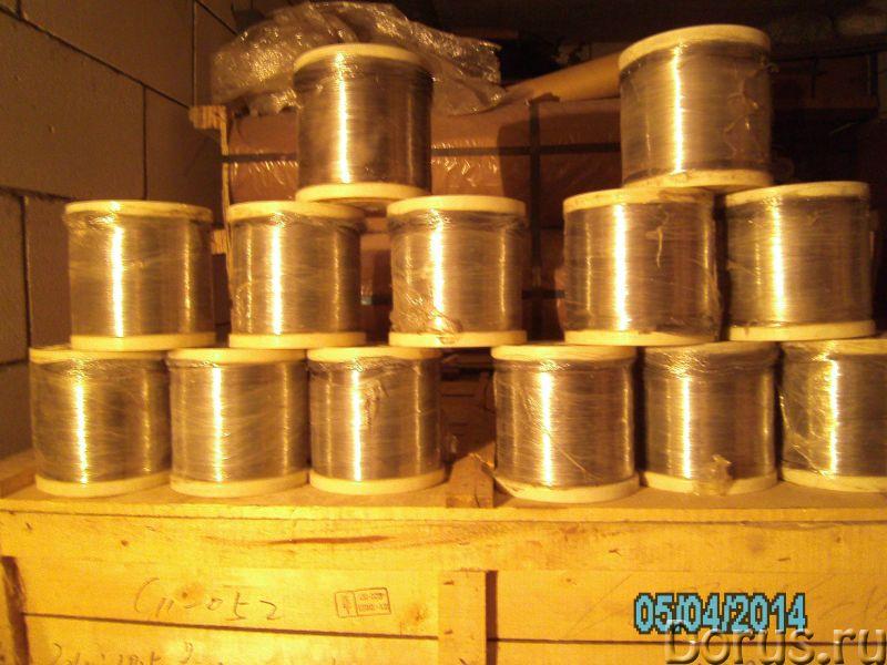 Нержавеющая проволока для пчеловодов - Металлопродукция - Пищевая нержавеющая проволока марки 12Х18Н..., фото 1