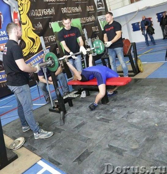 Сборный помост из резины для тренажерных залов и тренировок штангистов - Спорт товары - Резиновый сп..., фото 1