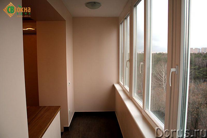Деревянные евроокна со стеклопакетами - Материалы для строительства - Деревянные евроокна изготавлив..., фото 1