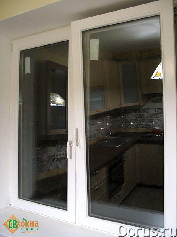 Деревянные евроокна со стеклопакетами - Материалы для строительства - Деревянные евроокна изготавлив..., фото 2