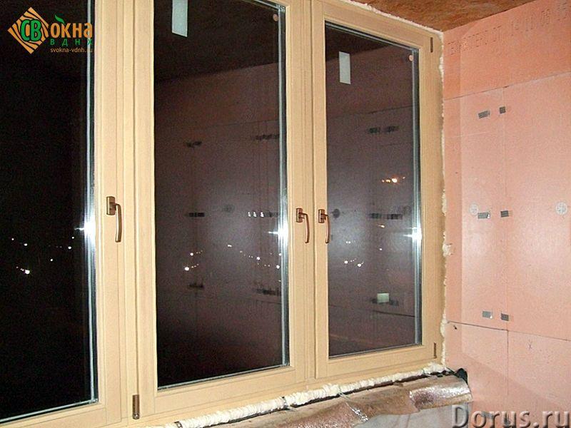 Деревянные евроокна со стеклопакетами - Материалы для строительства - Деревянные евроокна изготавлив..., фото 3