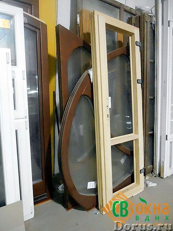 Деревянные евроокна со стеклопакетами - Материалы для строительства - Деревянные евроокна изготавлив..., фото 4
