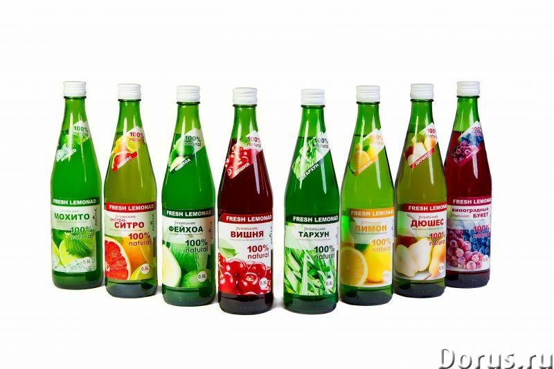 Натуральный грузинский лимонад в бутылках и розливной - Прочее по продовольствию - Производственный..., фото 1