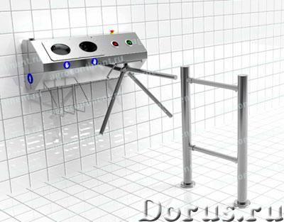 Турникет в составе санпропускника - Промышленное оборудование - Турникет может быть частью санпропус..., фото 1