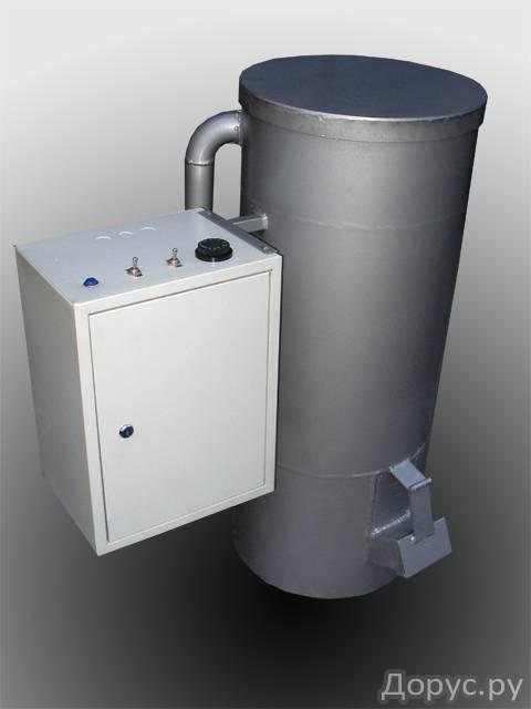 отопление в гараже на отработке - Нужные схемы и описания для всех.