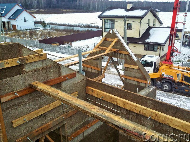 Теплые дома в несъемной опалубке Велокс в Москве - Строительные услуги - Возводим дома в современной..., фото 6