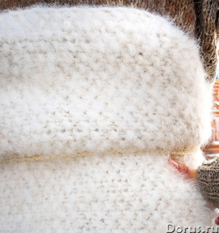 Пояс самоедский белый АНТИРАДИКУЛИТНЫЙ .Собачья шерсть - Одежда и обувь - Пояс самоедский белый АНТИ..., фото 4