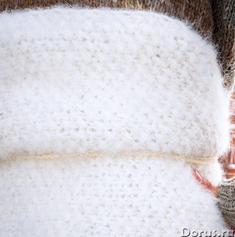Пояс самоедский белый АНТИРАДИКУЛИТНЫЙ .Собачья шерсть - Одежда и обувь - Пояс самоедский белый АНТИ..., фото 8