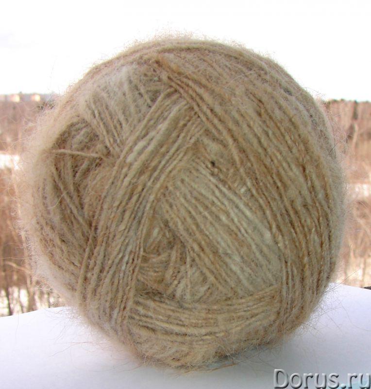Пряжа целебная «Пушистый Сторож» 290м100грамм из собачьей шерсти - Прочие товары - Пряжа целебная «П..., фото 3