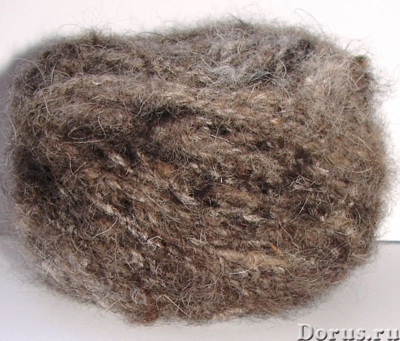 Толстая пряжа из собачьей шерсти.Пряжа «Звезда Кавказа» 55м100грамм для ручного вязания - Прочие тов..., фото 3