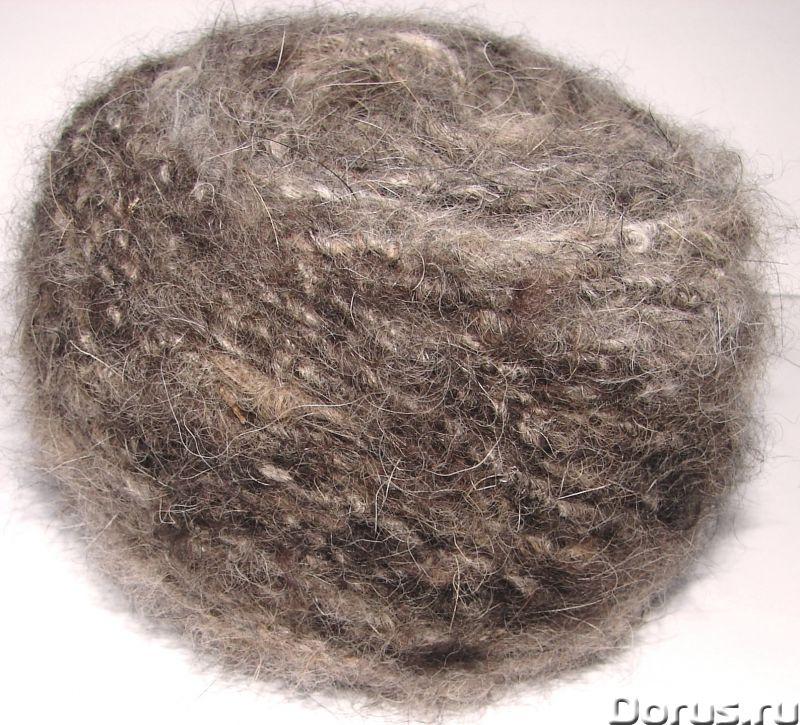 Толстая пряжа из собачьей шерсти.Пряжа «Звезда Кавказа» 55м100грамм для ручного вязания - Прочие тов..., фото 8
